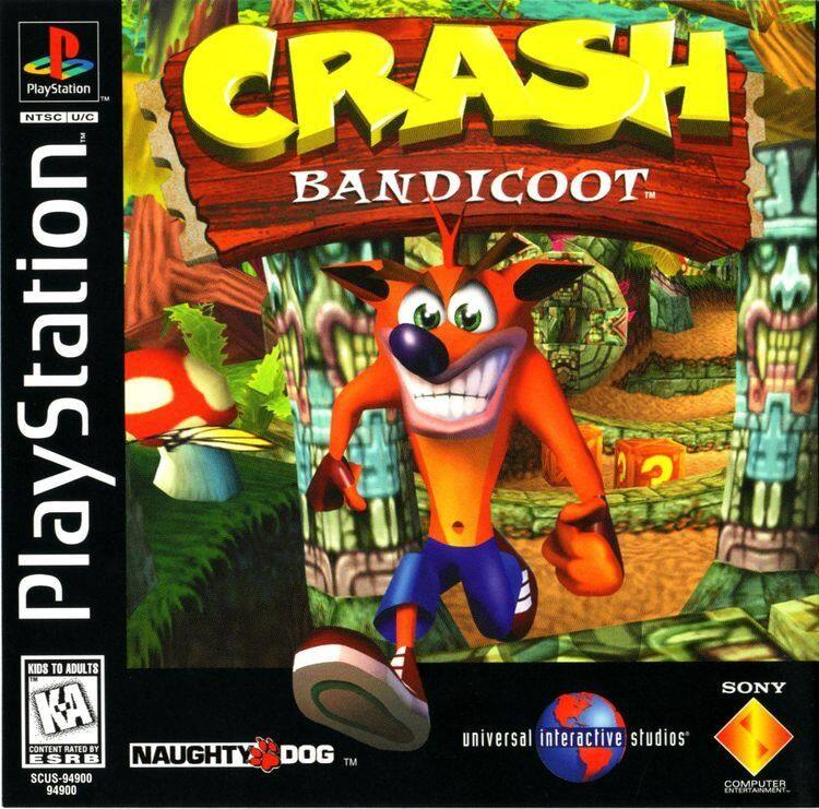 PS1 Crash Bandicoot