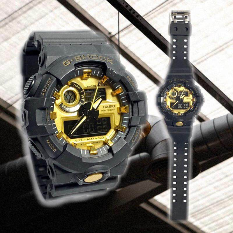 New Smart Fashion Sport collection Casio_G_SHOCK_Dual Time Display Watch For Unisex
