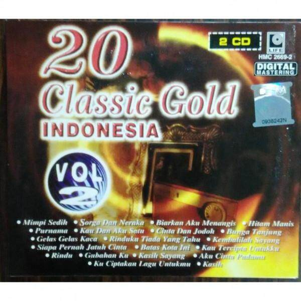 CLASSIC GOLD INDONESIA Vol.2 2CD Music CD Broery Persolima Hetty Koes Endang Tommy J. Pisa Emillia Contessa