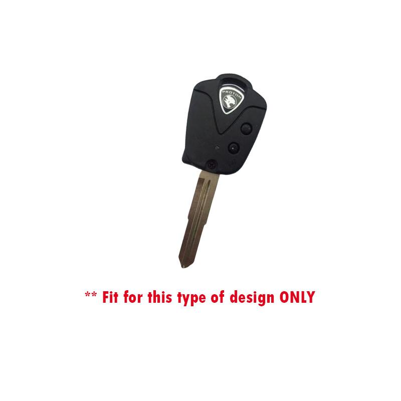 Proton Saga BLM / FLX / Waja / Wira SE Silicone Flip Key Remote Control Cover (Fluorescence)