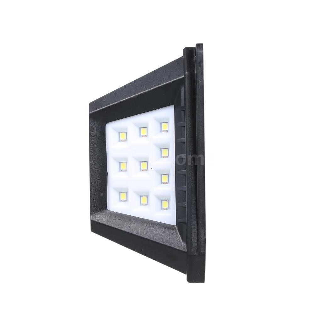 Outdoor Lighting - 66/136 LED Solar Light PIR Motion Sensor Wall Lamp 3 Modes Dimmable Outdoor Garden Lamp Waterproof