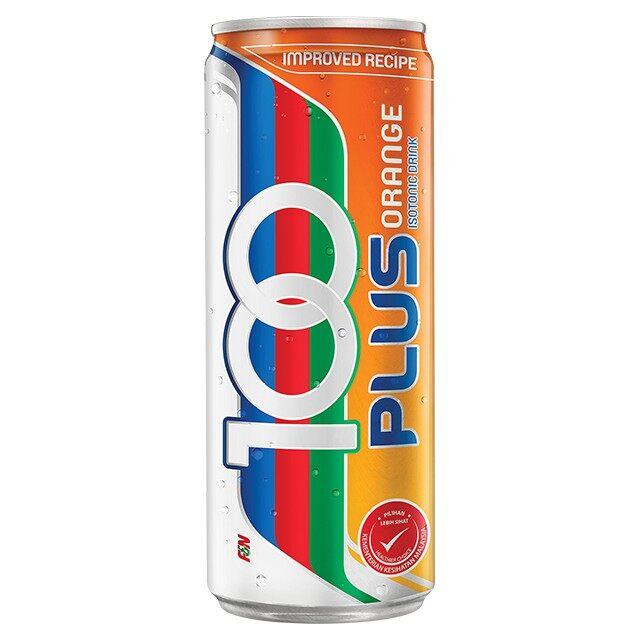 F&N 100plus Orange 325ml
