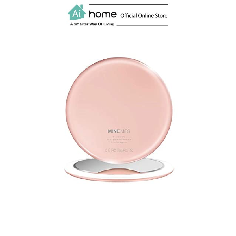 MINE MIRS Smart Portable Lighted Mirror Smart Beauty Care with 1 Year Malaysia Warranty [ Ai Home ]