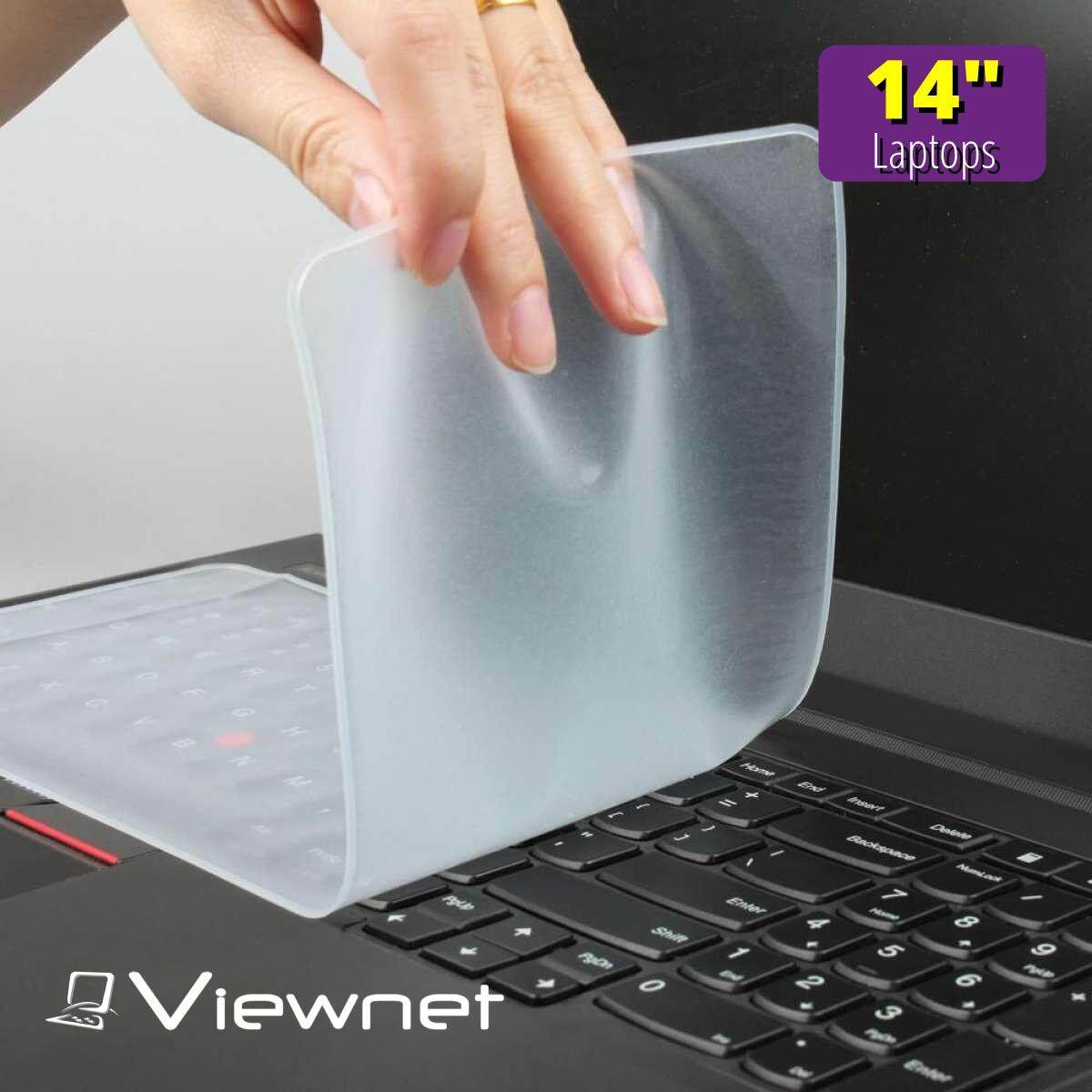 Universal Notebook Keyboard Silicone Protective Film Skin Cover Protector for 12