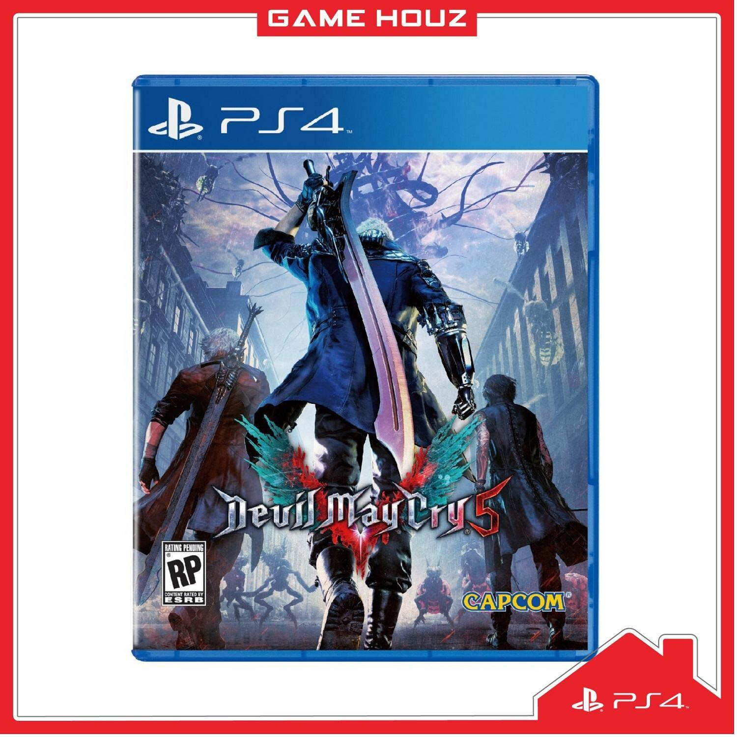 (PS4) Devil May Cry 5 (R3/ENG/CHN)