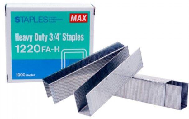 MAX Staples 1220 FAH (Stapler Bullet)