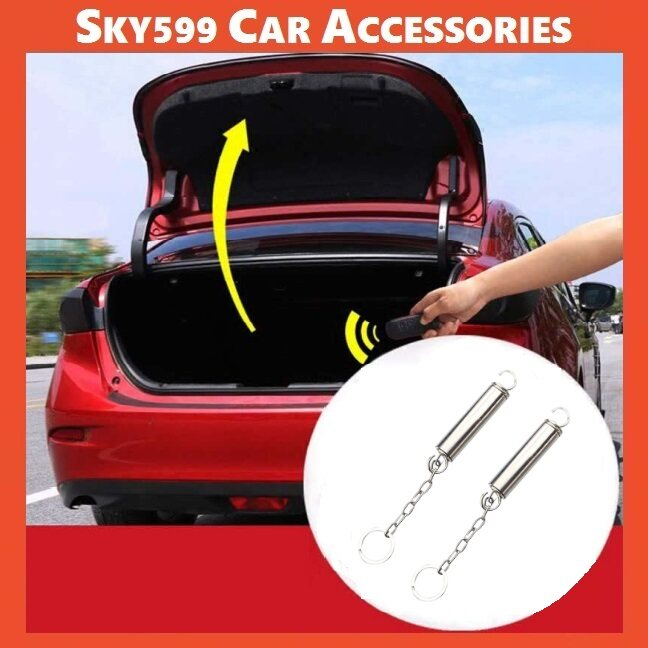 Car Adjustable Automatic Auto Car Trunk Boot Lid Lifting Spring Remote Open Device Auxiliary spring 1set