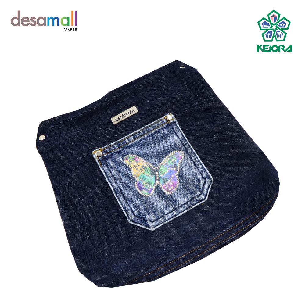 KAY ANIS COLLECTION Handmade 100% Jeans Bag