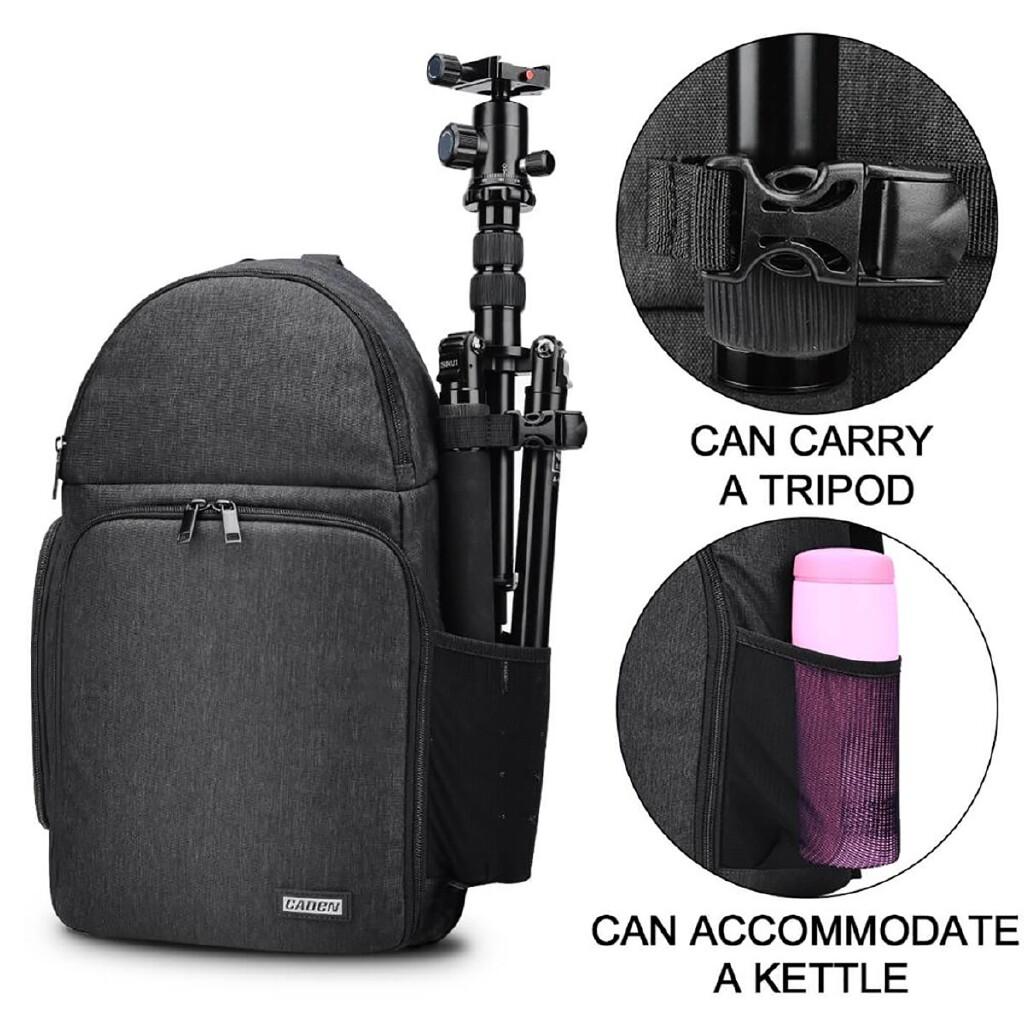 Cases, Covers and Bags - CADeN D15 Camera Sling Backpack Single-Shoulder Camera Bag Messenger Bag - Camera Accessories