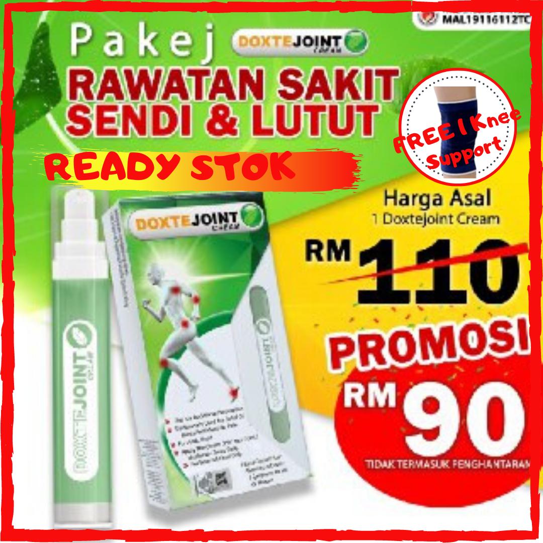 Krim Sakit Sendi Lutut Doxte Joint Cream Lulus KKM [FreeGift Knee Support]