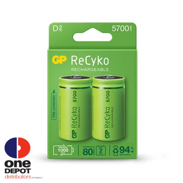 ?11.11? GP ReCyko+ D Rechargeable Battery 5700mAh
