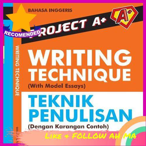 Best Selling Project A+: English Writing Technique Teknik Penulisan PT3 PMR & SPM NEW 2020 Edition (Ready Stock)