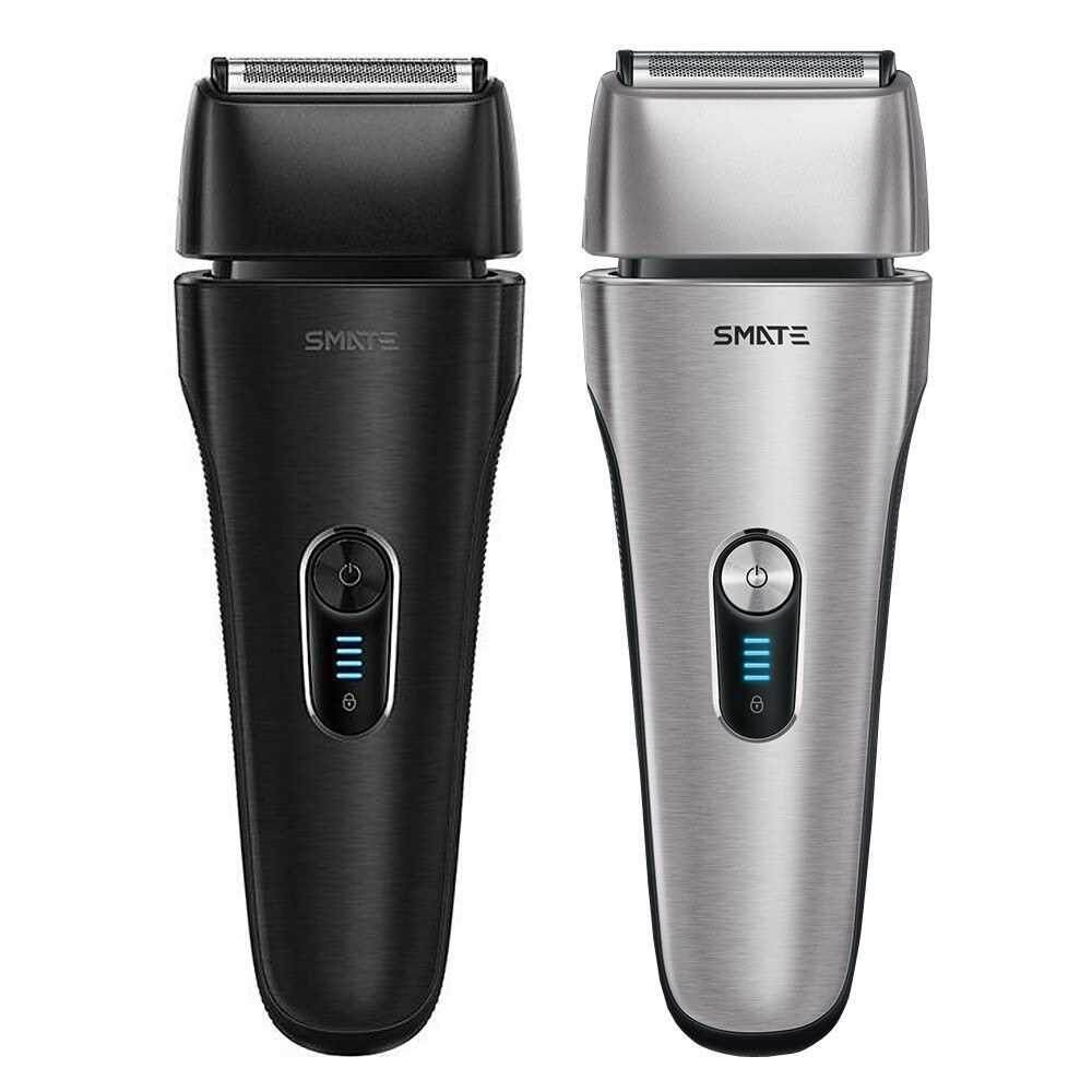 Best Selling Xiaomi Mijia Smate Reciprocating Electric Razor Shaver Waterproof Wash Dry and Wet 4B Fast Charge with Brush