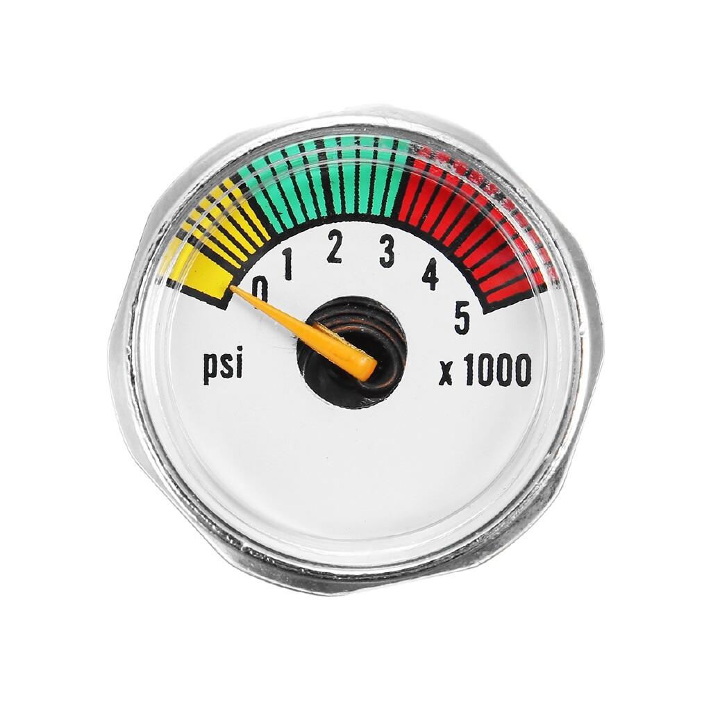 Gadgets - 1/8NPT Threads 5000 PSI MINI Micro Paintball Air CO2 Tank Pressure Gauge - Cool