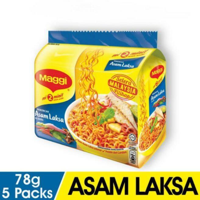 Maggi Instant Noodles Laksa (5 x 78g)