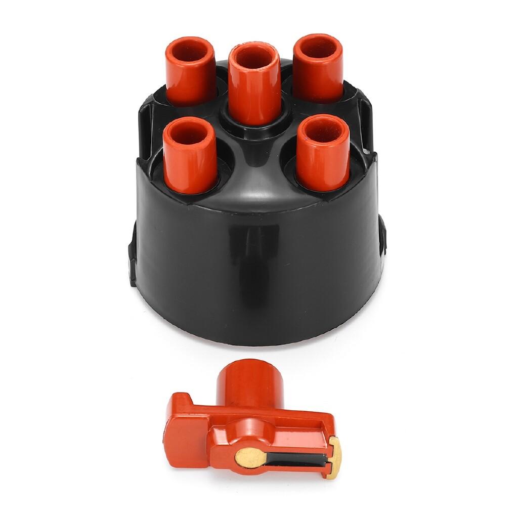Engine Parts - Distributor Cap & Rotor Arm Kit For VW GOLF MK1 CABRIOLET MK2 1.8 GTI 8V hotestcar - Car Replacement