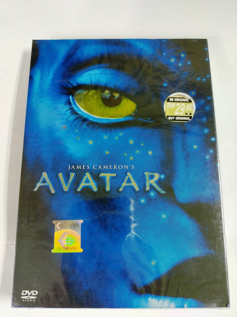 English Movie Avatar DVD THX Sound Dolby Digital James Cameron Original Film
