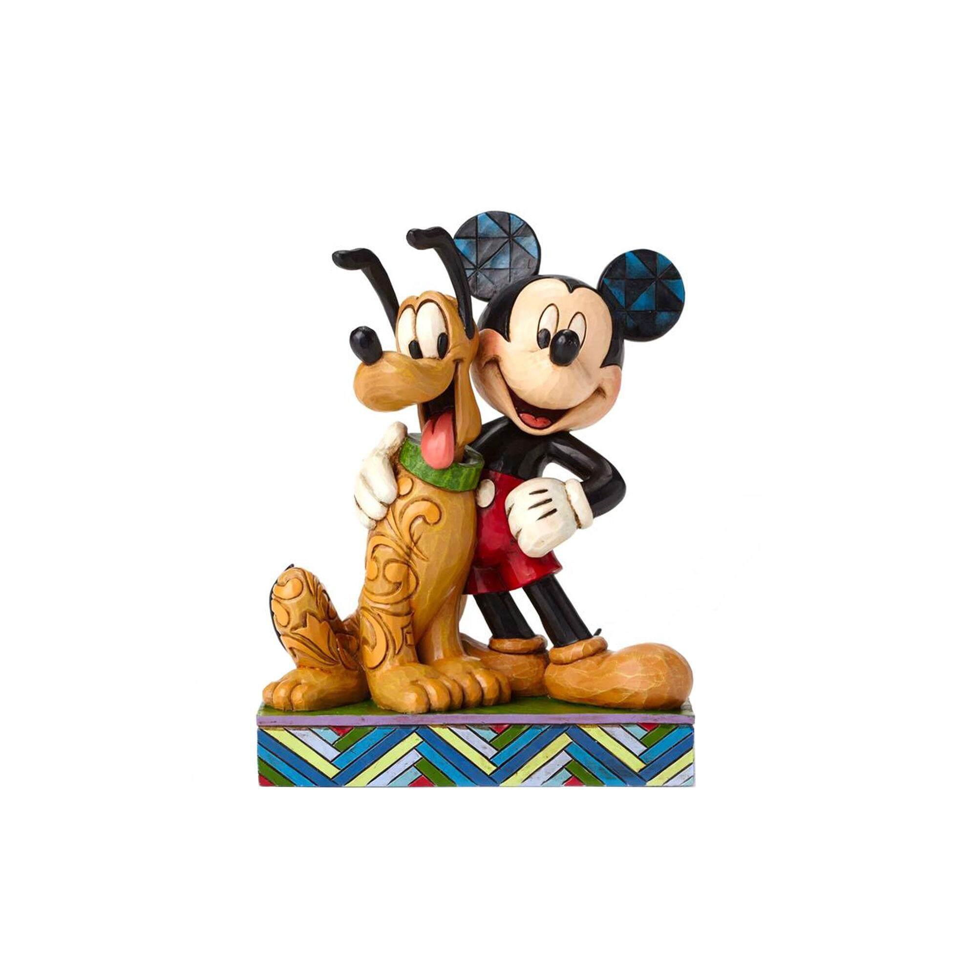 Disney Enesco Mickey And Pluto Collection