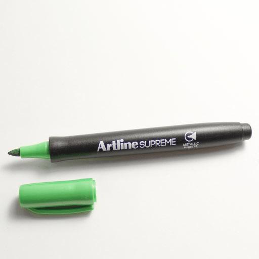Artline EPF-790 SUPREME Metallic Marker (EPF-790) Metallic Green