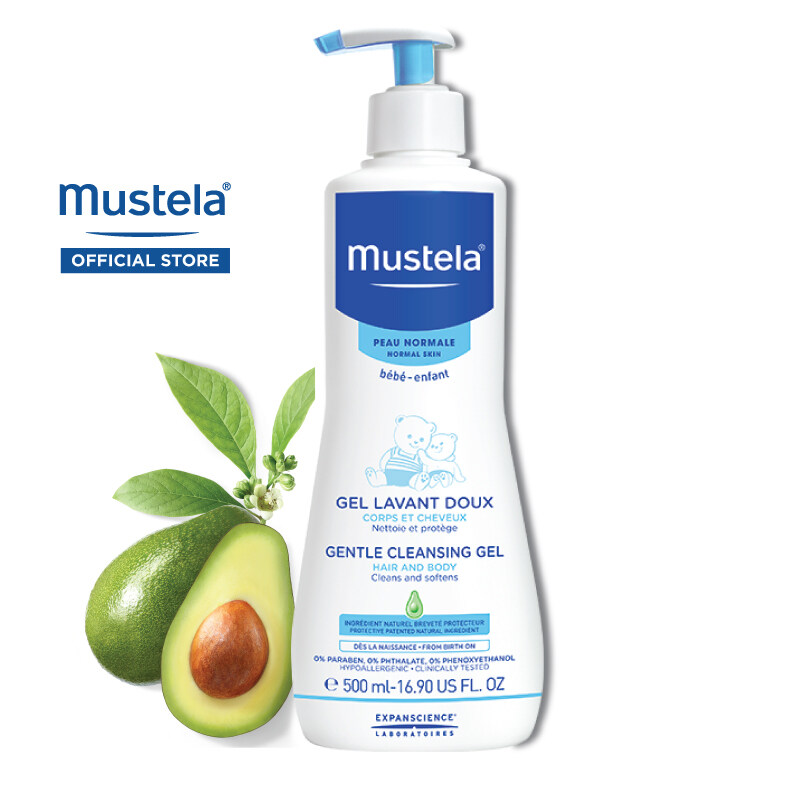 MUSTELA Gentle Cleansing Gel for Normal Skin (500ml)
