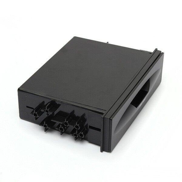 Car Radios - Universal Car Auto Single Din single-disc Plastic Radio Pocket Storage Box - Electronics