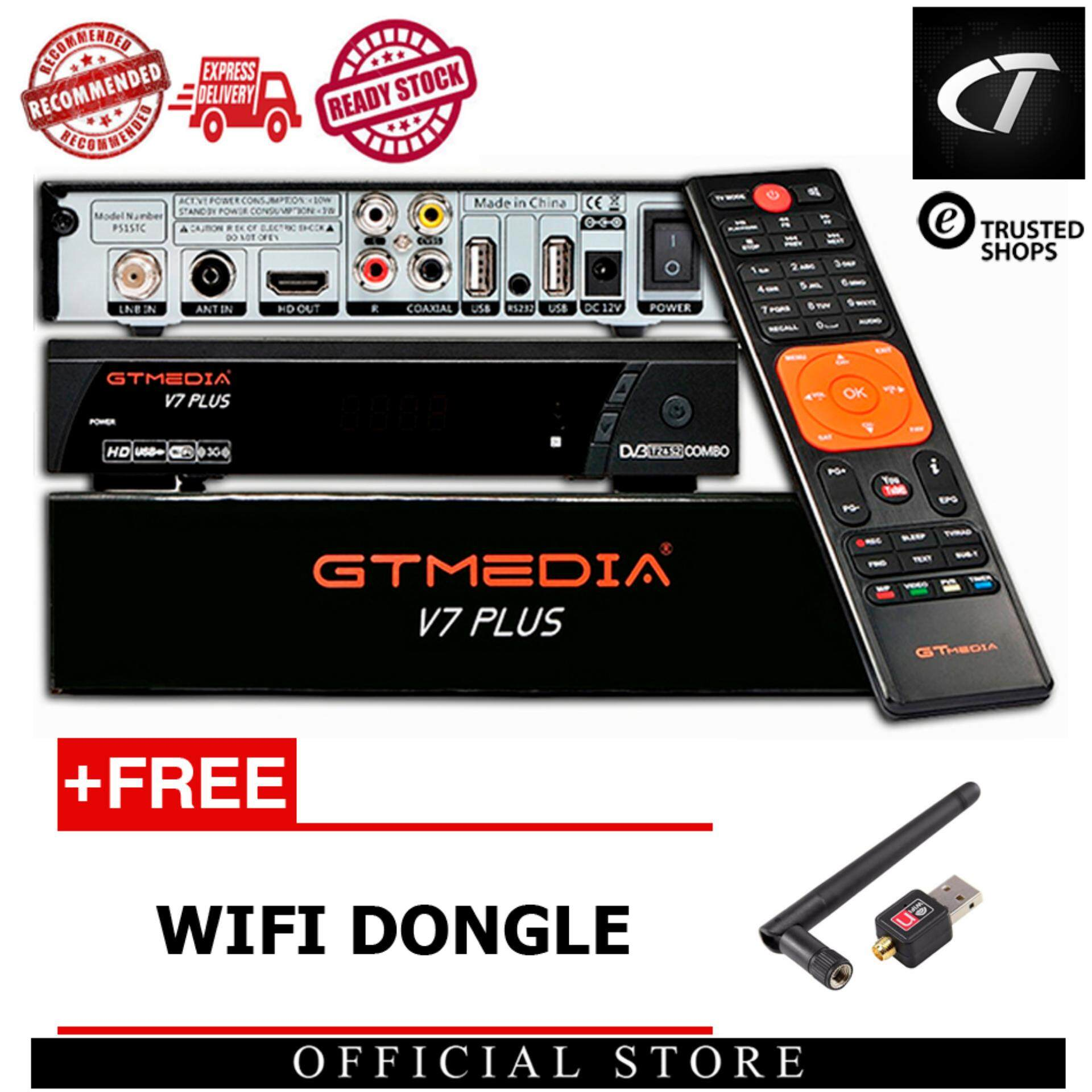 GT Media 'Freesat' V7 Plus - Full HD