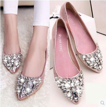 (PreOrder14Days )JYSFashionKoreanStyleWomen Flat Shoes Collection 541 -2113 - EU:35