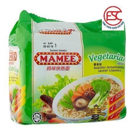 [FSC] Mamee Premium Mee Vegetarian Flavour 75gm x 8pkt x 5pc