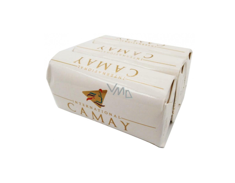 CAMAY NATURAL SOAP 125G X 3 PACK