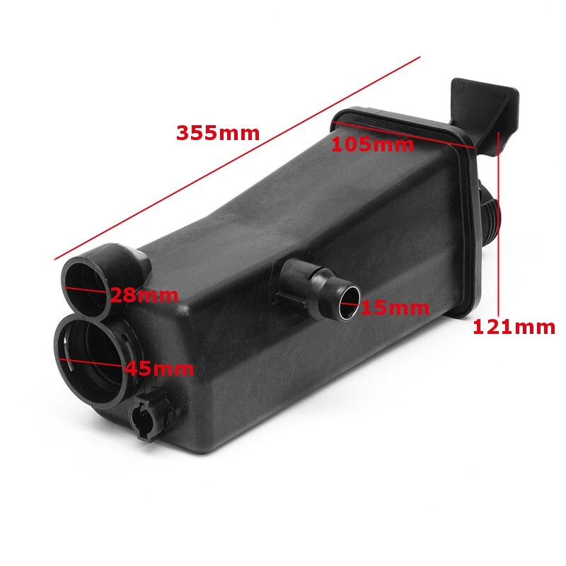Exhaust - Radiator Coolant Overflow Expansion Tank Bottle For BMW 3 SERIES E46 X3 E83 E53 - Car Replacement Parts
