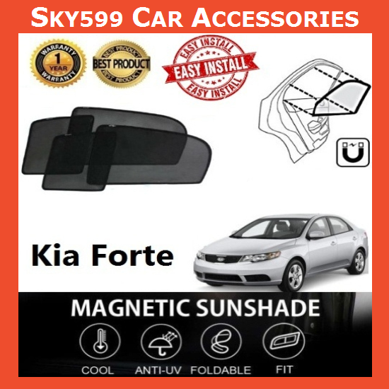 Kia Forte Magnetic Sunshade ?4pcs?