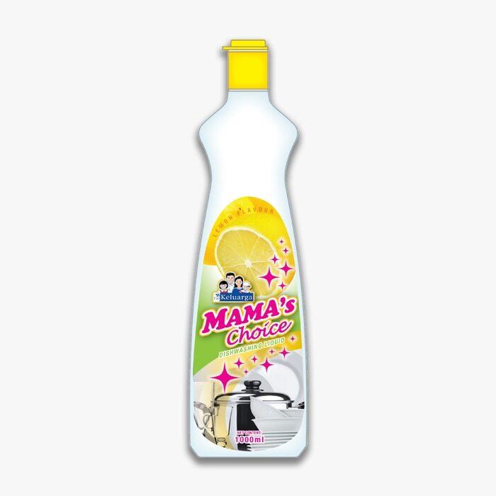 Cap Keluarga Mama Choice Dishwash Lemon 1000ml
