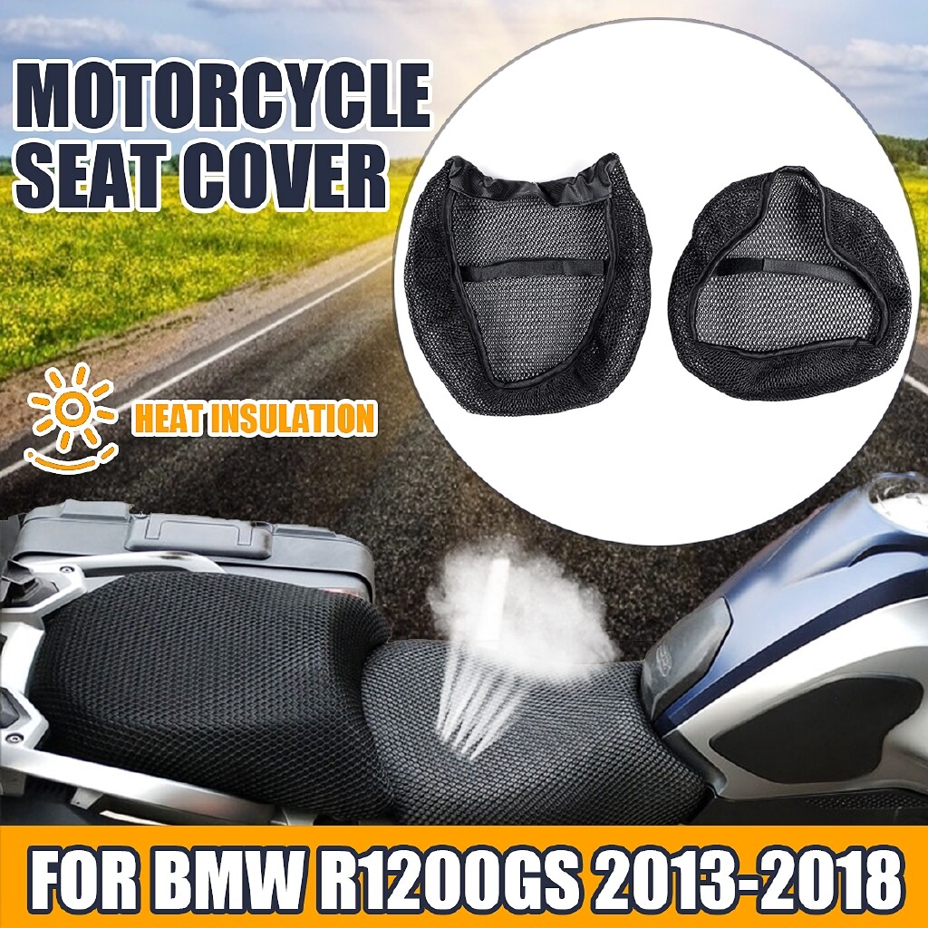 Moto Accessories - Motorcycle 3D Mesh Seat Cover Breatheable Anti-slip For BMW R1200GS 06-12/13-18 - 2013- / 2006-2012