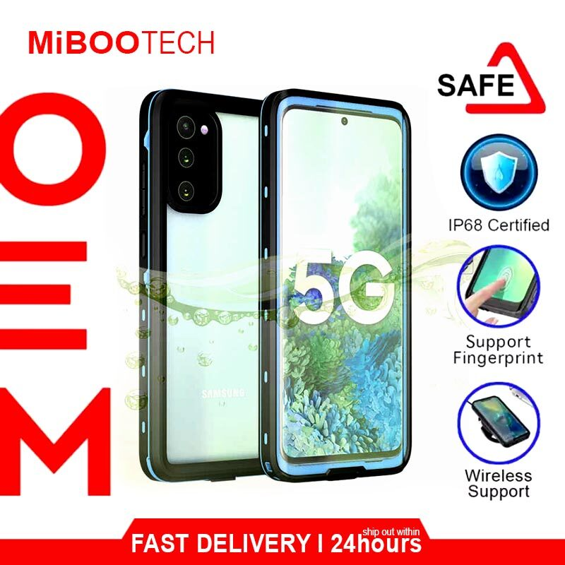 [Miboo] Tcom 360 Samsung Galaxy S20 / S20 Plus / S20 Ultra Cover Protective Case Waterproof Case - Black - S20 Plus