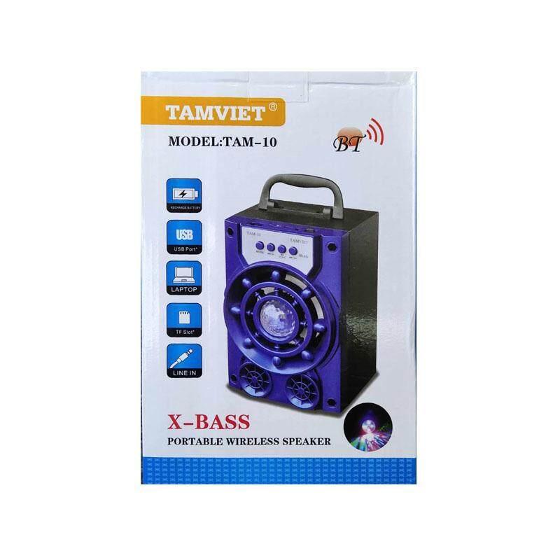 Tamviet X-Bass Portable wireless Speaker (Tam-10) RED