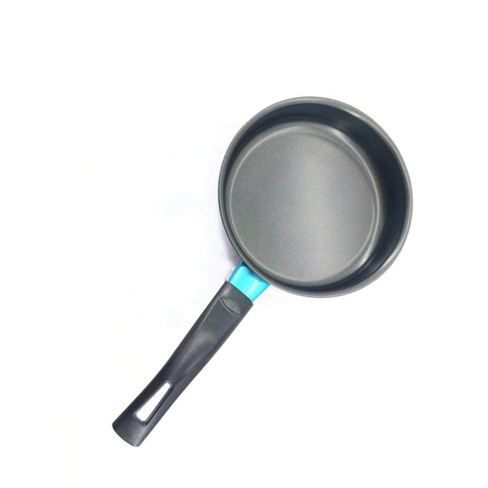 14/16/18cm Mini Non-sticky Flat Base Frying Pan for Induction Cooker