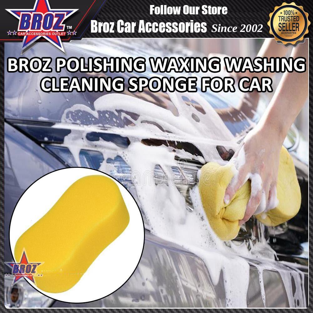 Broz Polishing Waxing Washing Cleaning Sponge for Car