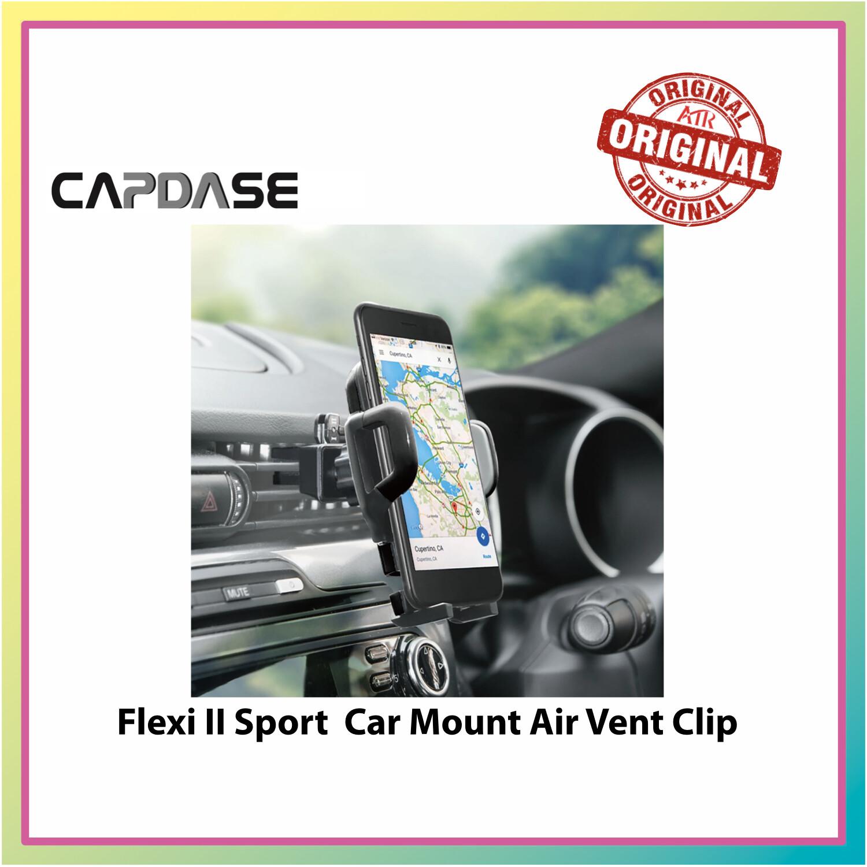 Capdase Sport Wind/Dash Flexi-Vent Clip Car Holder Mount - Black