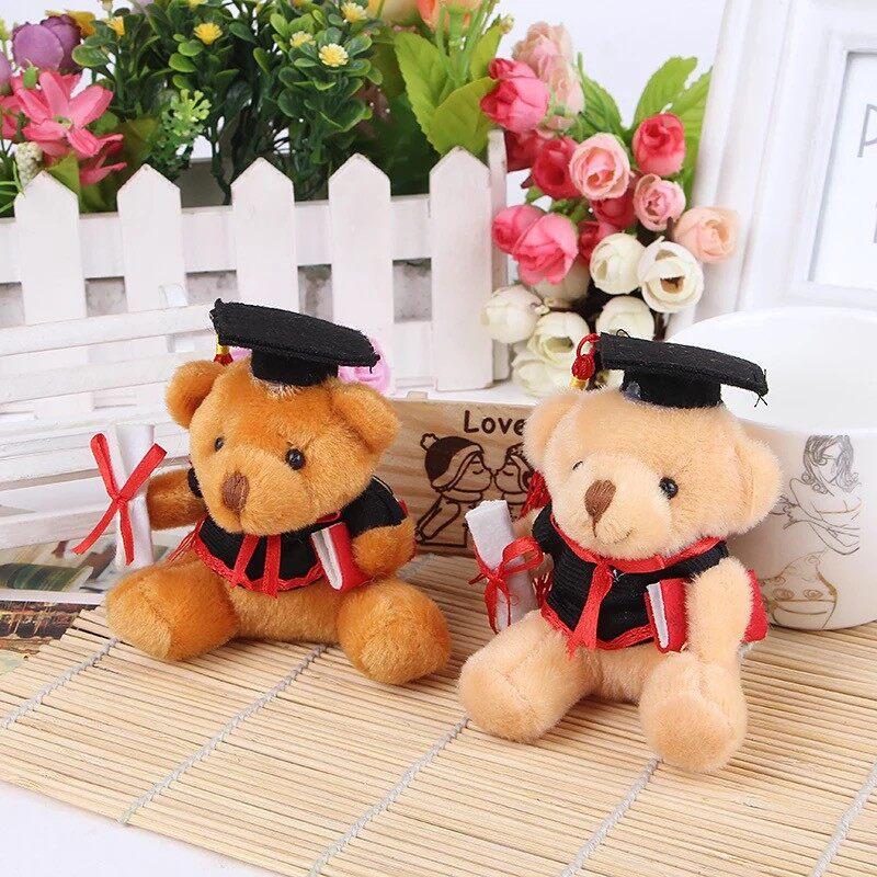 Cute 9 CM Graduation Bear / Convocation / Teddy Bear Keychain