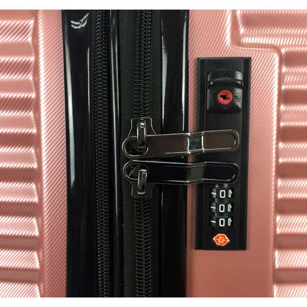 Poly-Club BA9958 20inch ABS+PC Expendable Hardcase Luggage with Anti-Theft & TSA Lock