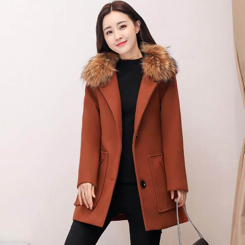 (Pre Order14 Days JYS Fashion Korean Style Women Winter CoatCollection522-435col522-435--Brown -M