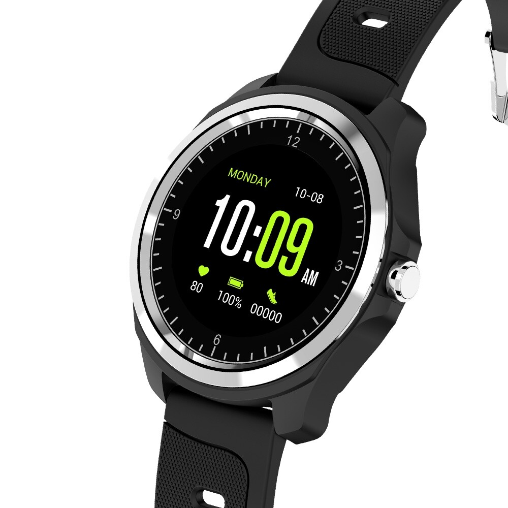 Smart Watch - KINGWEAR KW05 BLUETOOTH Calling Monitor Voice Assistant Music Control Weather Forcast OGS - Wearables