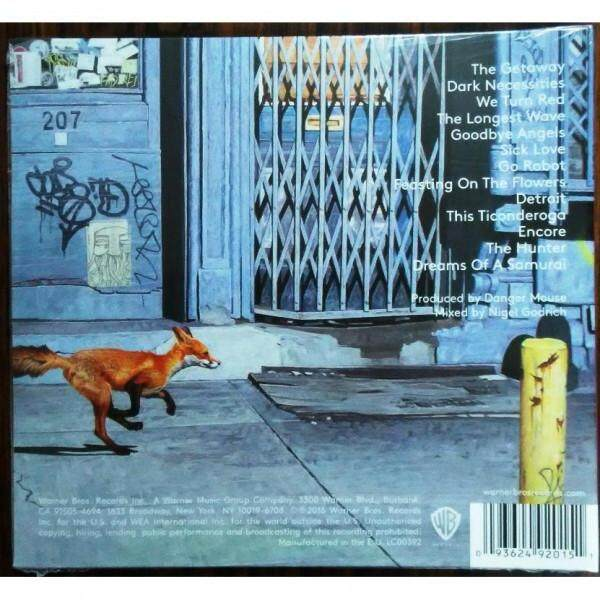 RED HOT CHILI PEPPERS The Getaway Imported CD Digipack EU Pressed