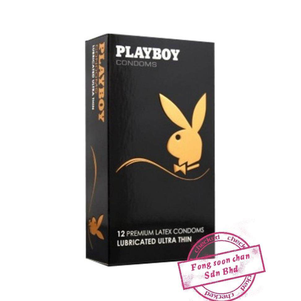 [FSC] Playboy Premium Latex Condom 12s Lubricated Ultra Thin