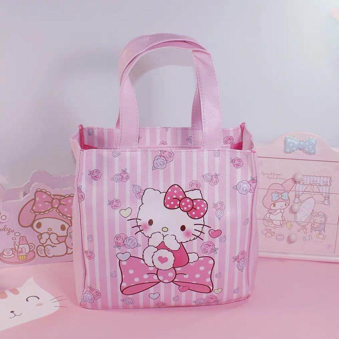Hello Kitty My Melody Lunch  Box Bag Multipurpose Bag