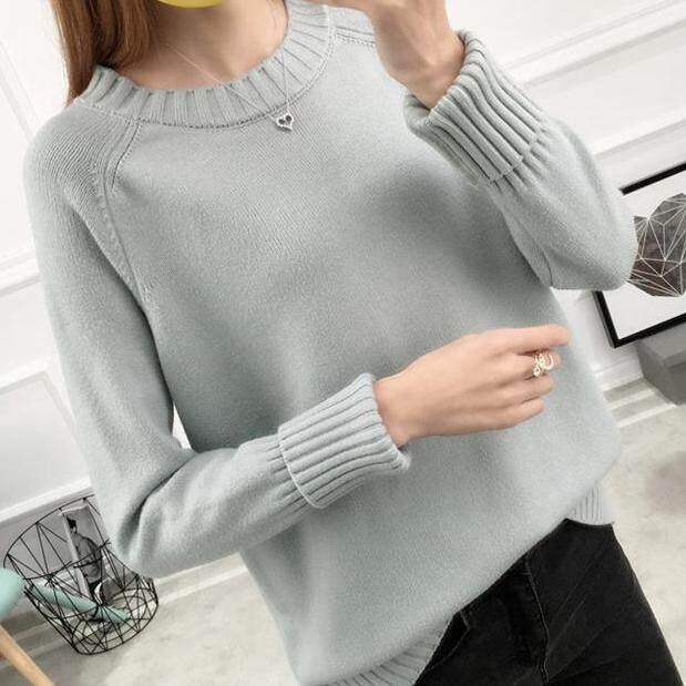 (Pre Order14 Days JYS Fashion Korean Style Women Knit TopCollection526-9860col525a-9860--Light Green-S