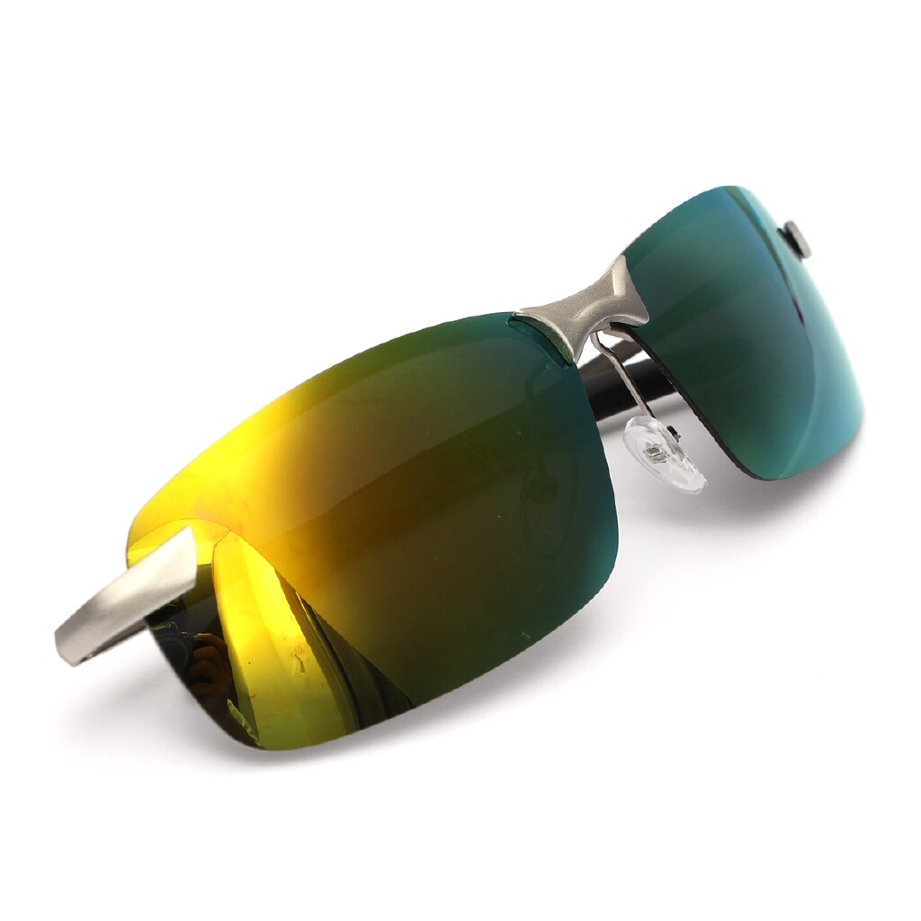 Engine Parts - Men Fashion Polarized Driving Sunglasses Outdoor Sports Glasses Gift - YELLOW