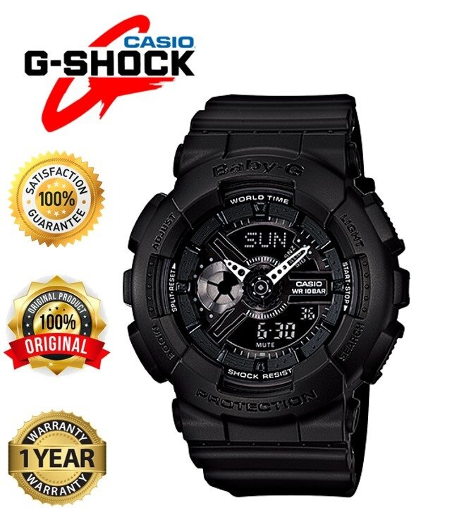 Leo Marketing 100% Original SPECIAL PROMOTION CASIO G_SHOCK_ DUAL TIME RUBBER STRAP WATCH SET FOR UNISEX