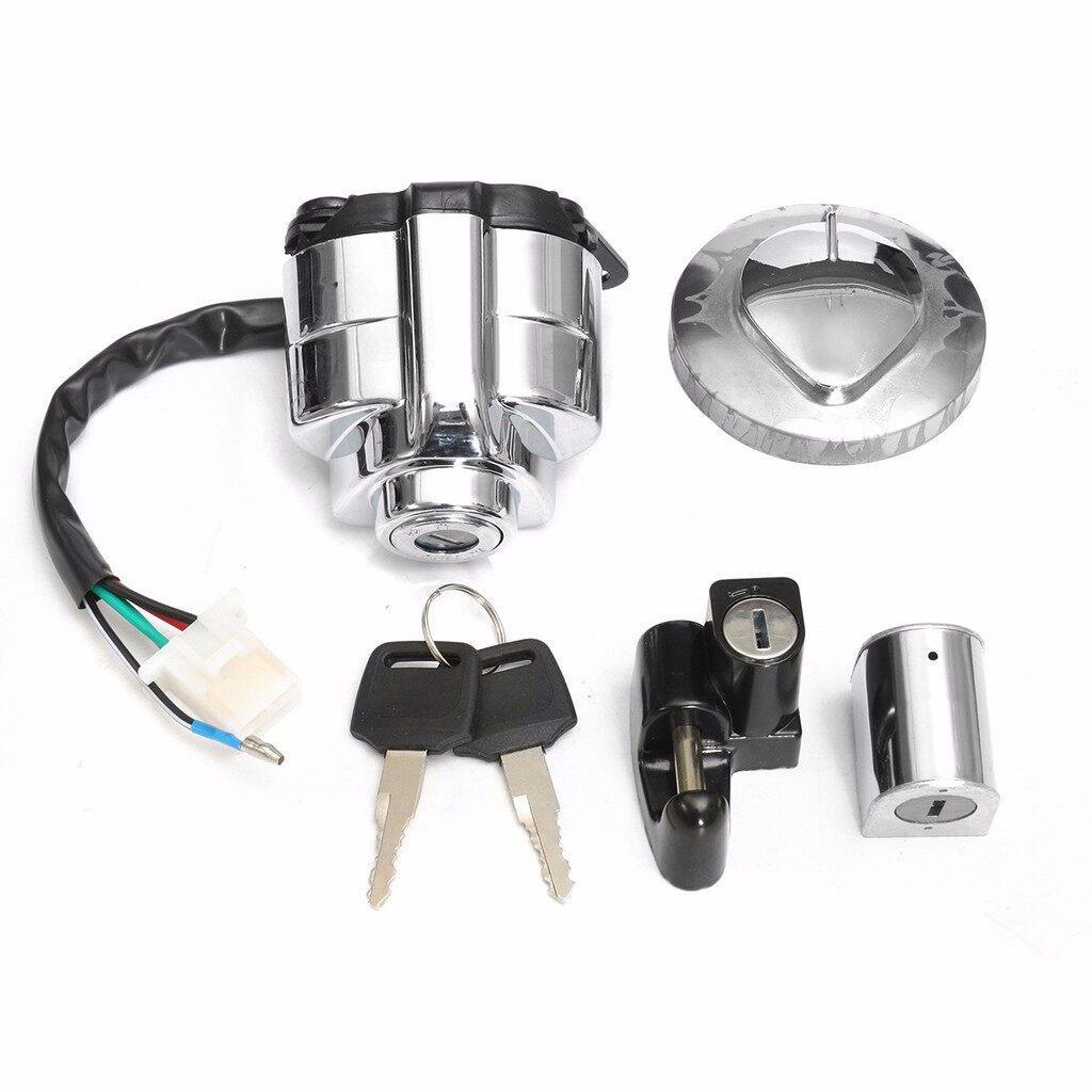 Moto Helmets - Ignition Switch Gas Cap Helmet Lock Keys SET for Honda Shadow VLX VT 400 600 750 - Motorcycles, Parts & Accessories