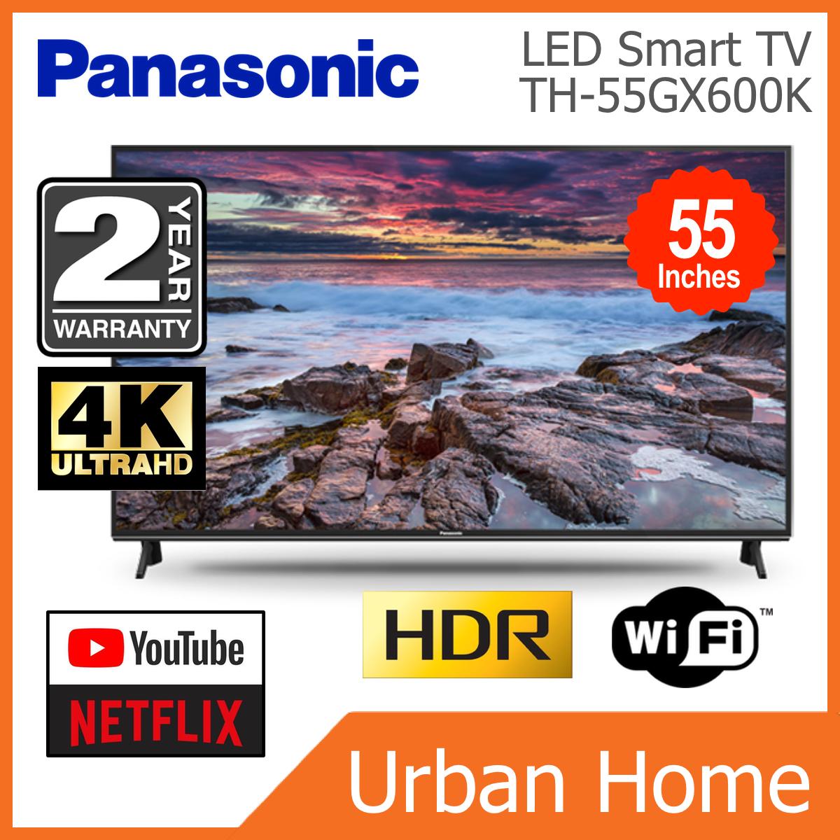 "PANASONIC 55"" 4K UHD HDR LED Smart TV (TH-55GX600K/TH55GX600K/TH-55GX600/TH55GX600)"